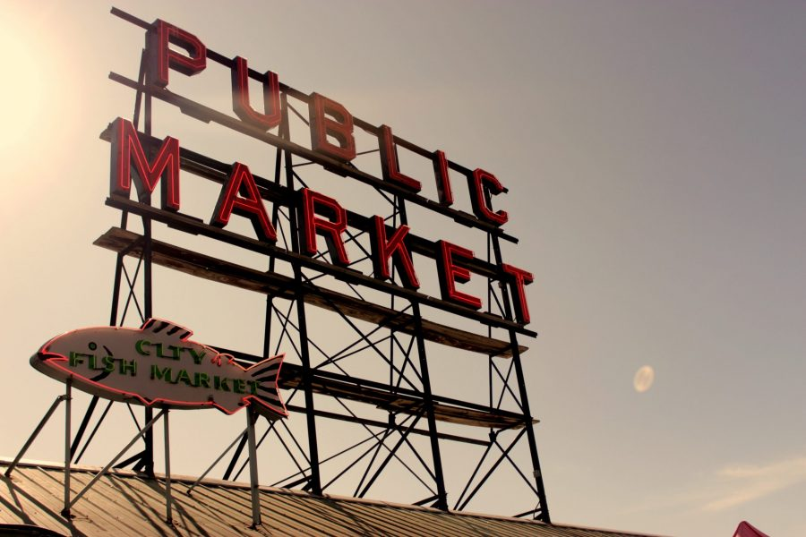 Pike Place Market Sign