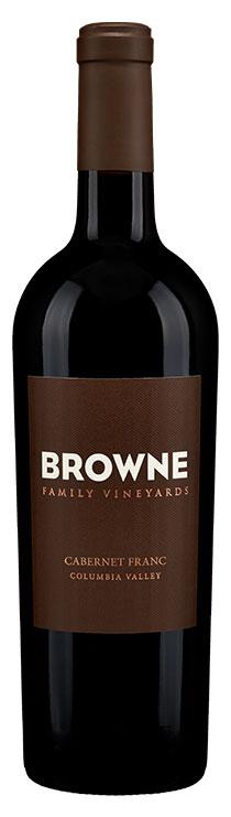 Browne Family Cabernet Franc bottle