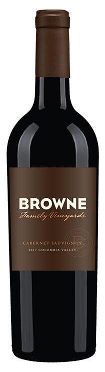 Browne family vineyards cabernet sauvignon bottle
