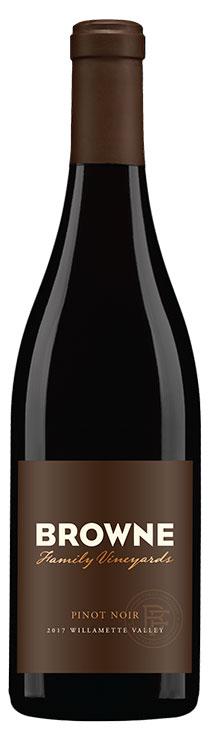 Browne Family Vineyards Pinot noir bottle