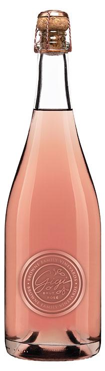 Browne Family Gigi Brut Rosé bottle