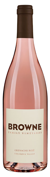 Browne Family Grenache Rosé bottle