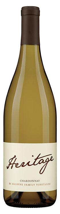 Browne Family Heritage Chardonnay bottle