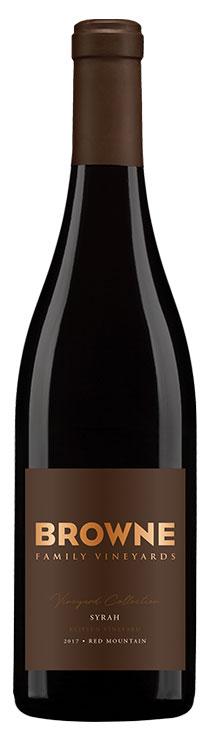 Browne Klipsun Syrah bottle