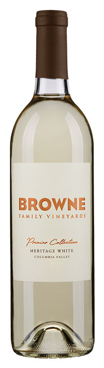 Browne Family Meritage White Blend bottle