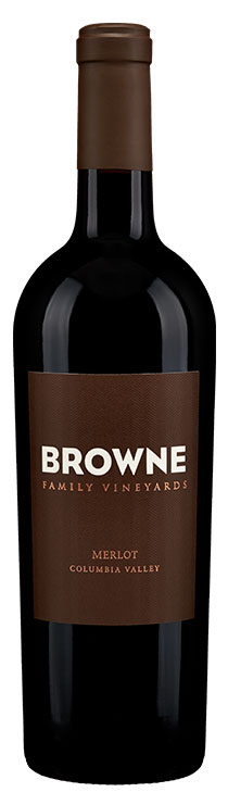 Browne Family Merlot bottle