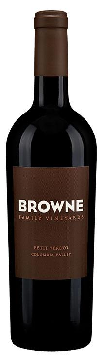 Browne Family Petit Verdot bottle