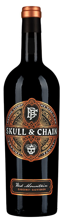 Skull and Chain Red Mountain Cabernet Sauvignon bottle