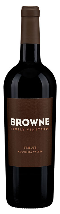 Browne Family Tribute Red Blend bottle