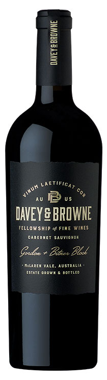 Davey and Browne Estate Cabernet Sauvignon bottle