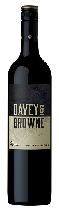 Davey and Browne Vortex Red Blend bottle