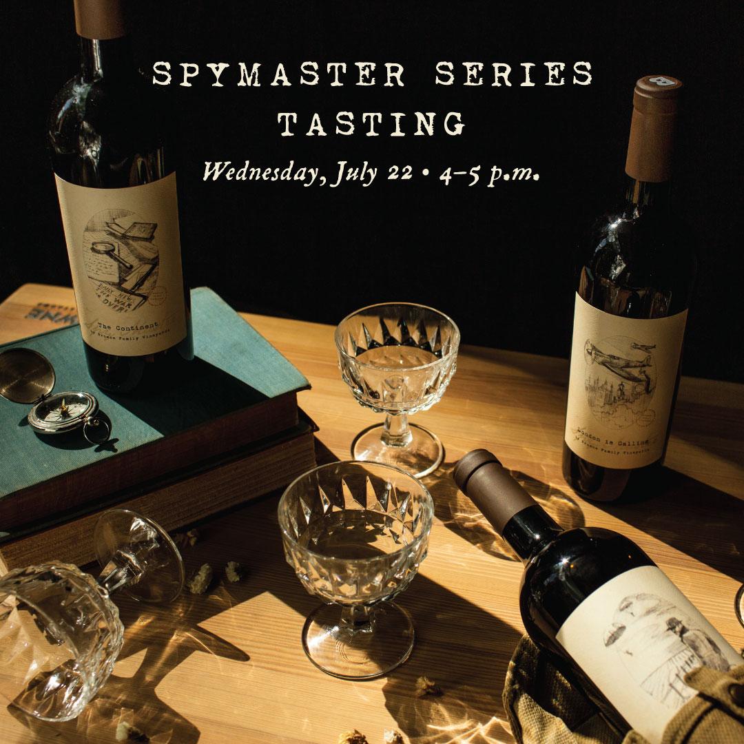 Browne Spymaster Tasting Event